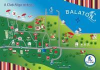 club aliga térkép Balatonaliga Club Aliga   a balatonvilágosi üdülő komplexum